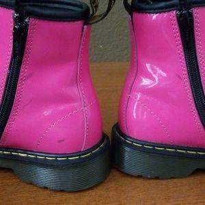 Dr. Martens Shoes - Hot pink Doc Martens, Girls Size 2